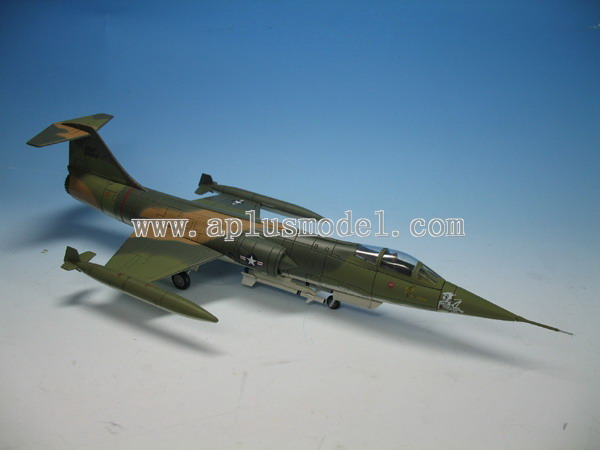 Diecast Models: HA1002 F-104C, Pussy Cat, Udorn AFB, Thailand